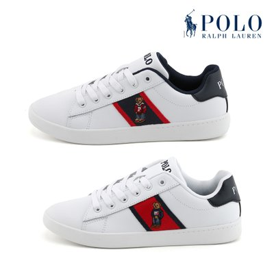 폴로(POLO) QUILTON BEAR LEATHER 스니커즈 2종