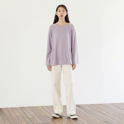 Soft Raglan Top - Lavender