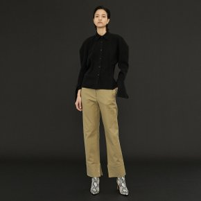 Dion Stitch Trouser _Khaki