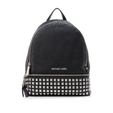 MICHAEL Michael Kors Rhea Zip Small Studded Backpack 30S5SEZB5L BLACK