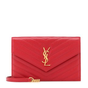 Saint Laurent(SAINT LAURENT(생로랑)) Monogram Envelope 숄더백 P00362271 레드/Bandana Red[마이테레사]