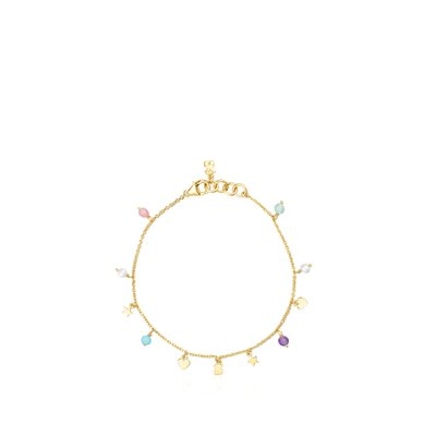 [최초출시가 147,000원]Silver Vermeil Cool Joy Bracelet with Gemstones/팔찌/018151510