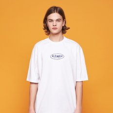 ANOTHER FRAME - CIRCLE FRAME T-SHIRT (WHITE) 반팔티
