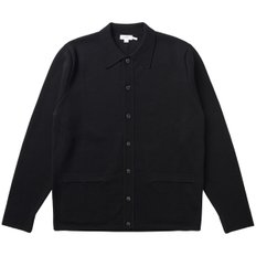 MERINO WOOL MILANO JACKET BLACK