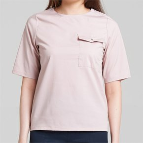 EYELET BLOUSE LIGHT PINK235 (3516679)