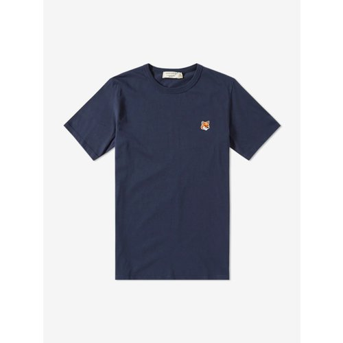 [PRE-ORDER] 20SS TEE-SHIRT FOX PATCH NAVY MEN AM00103KJ0008