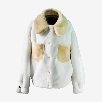 TOO COOL FOR FUR 투쿨포퍼 ALESSANDRA JACKET CREAM 017