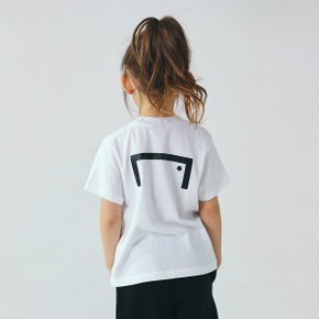 [골스튜디오] (KIDS)TEXT LOGO TEE - WHITE