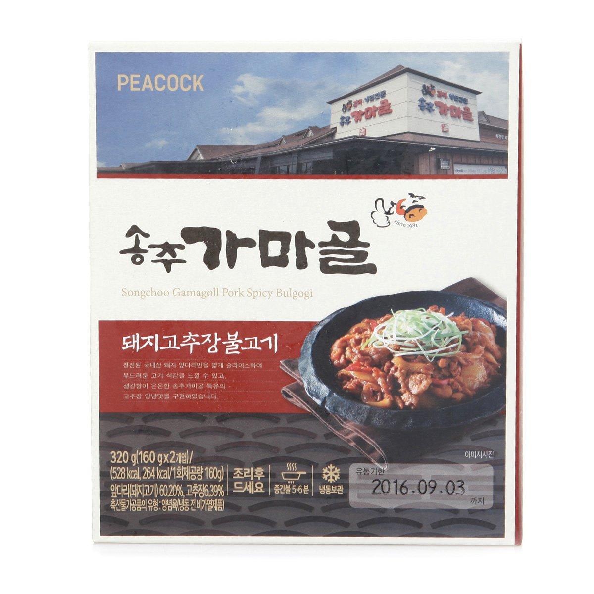 [피코크] 송추 가마골 돼지 고추장 불고기 320g