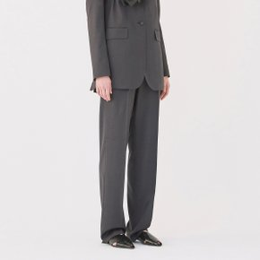 [가브리엘리] 19SS WIDE-LEG TROUSERS - CHARCOAL