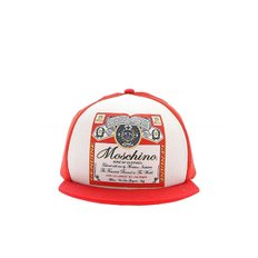 [모스키노] FW19 여성 스냅백 Moschino x Budweiser hat in red (9278 8253 1112)