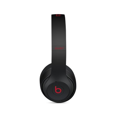 Beats Studio3 Wireless 오버 이어 헤드폰 - Beats Decade Collection - 도전적인 블랙-레드(MRQ82PA/A)