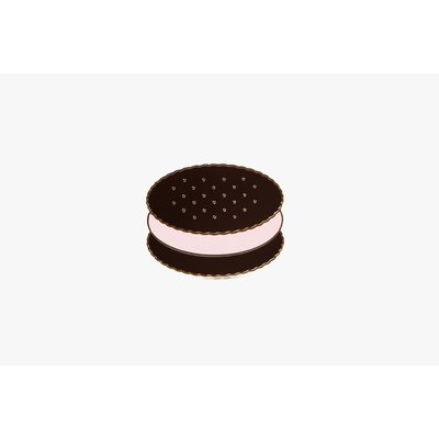 Ice cream sandwich badge