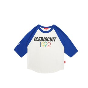 1992 Icebiscuit three quarter raglan Tee