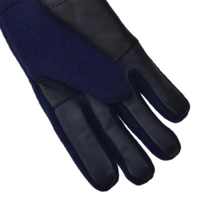 [어그]남성 FABRIC AND LEATHER GLOVE NAVY 17431