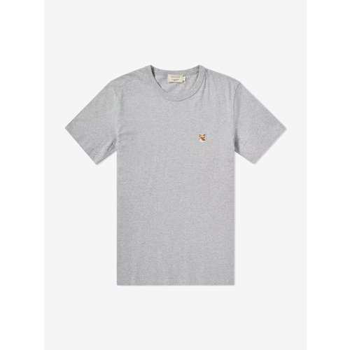 [PRE-ORDER] 20SS TEE-SHIRT FOX PATCH GREY MELANGE MEN AM00103KJ0008
