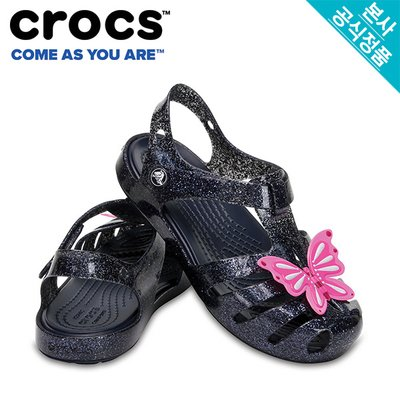 크록스공식 아동 CROCS ISABELLA NOVELTY SANDAL NAVY(204529)