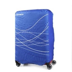 캐리어커버 FOLDABLE LUGGAGE COVER S_BLUE (Z3401060)