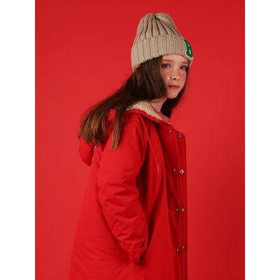 [40% SALE] Icebiscuit fleece long parka