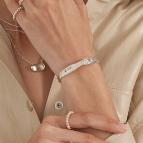 Daub Bangle (Silver, Gold)