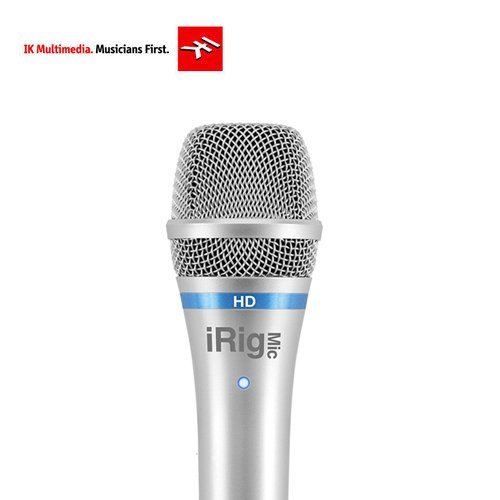 [IK Multimedia] iRig Mic HD 디지털 마이크로폰 - Silver