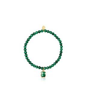 [최초출시가 119,000원]Silver Vermeil and Malachite Icon Color Bracelet/팔찌/015431600