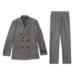 multi-color check double suit_CWFBW19853BEX_CWFCW19853BEX
