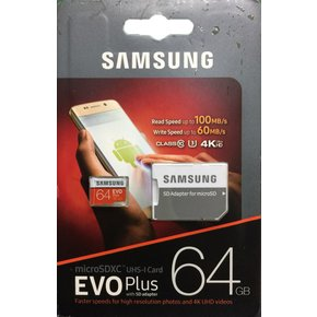 삼성 Micro SD EVO PLUS 64G