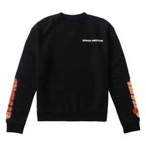 CHROMED SWEATSHIRT BLACK