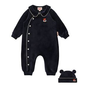 Lesser panda baby velour suit set / BP8416125