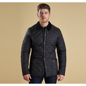 Barbour 바버 헤리티지 리데스데일 퀼트자켓 블랙 (HERITAGE LIDDESDALE QUILTED JACKET BLACK)