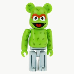 100% BEARBRICK OSCAR THE GROUCH