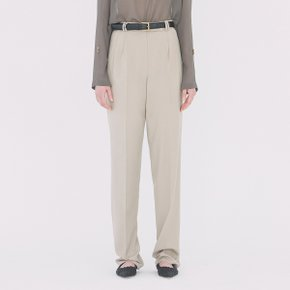 [가브리엘리] 19SS WIDE-LEG TROUSERS - OATMEAL