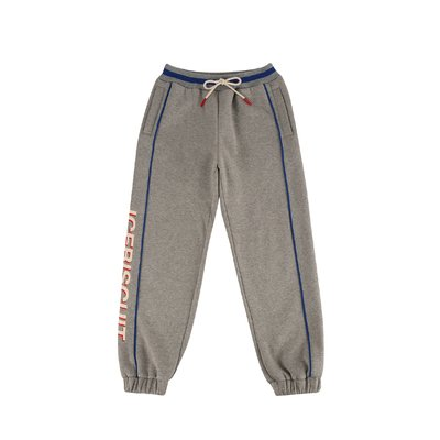[20% SALE] Icebiscuit side color block sweat pants (기모O)