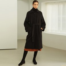 [룩캐스트] BLACK BELL OVERFIT COAT (3612705)