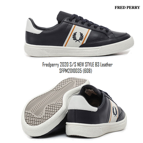 (PLATFROM) FredPerry 2020 S/S 남성  New Style B3 Leather SFPM2010035 (608)