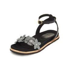 Minimarch sandal(black&white)_DG2AM19019BWX