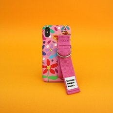 SUN CASE GRAPHIC FLOWER PINK PINK(CARD)