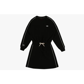 [20% SALE] Icebiscuit piping point sweat dress