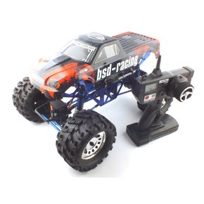[2.4GHz]1/10 Brushed Groundpounder Monster Truck RTR (BSD091052OR) 전동 락크라울러 R/C