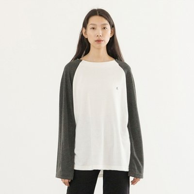 Soft Raglan Top - White
