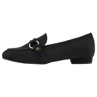 로퍼 MF7063 Snug ring belt loafer 블랙