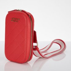 ★SUMR12911★Waffle handy bag_RED