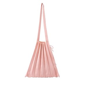 Lucky Pleats Knit M Millennial Pink
