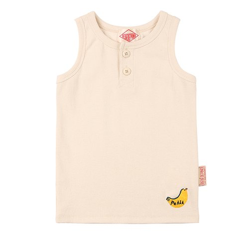 Petit bird rib tank top / BP7232308