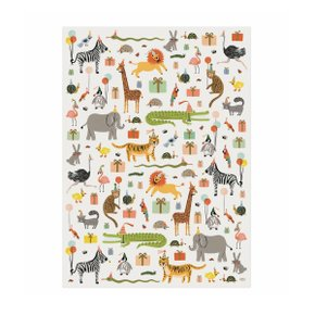 PARTY ANIMAL WRAPPING SHEETS (3장)