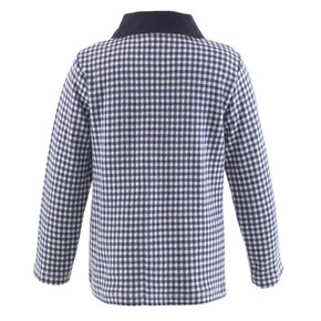 Gingham Polo Shirt