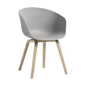 About A Chair AAC22 concrete grey