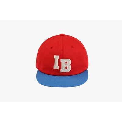 IB color block 6 panel cap