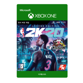 XBOX  NBA 2K20: LEGEND EDITION